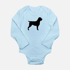 Wirehaired Pointing Gr Long Sleeve Infant Bodysuit