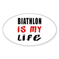 Biathlon Is My Life Decal