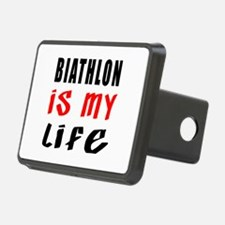 Biathlon Is My Life Hitch Cover
