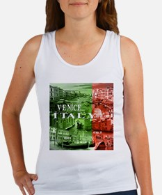 VENICE ITALY CANALS Tank Top