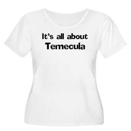 About Temecula Women's Plus Size Scoop Neck T-Shir