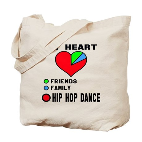 My heart! Friends, Family and Jive dance Tote Bag