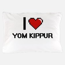 I love Yom Kippur digital design Pillow Case