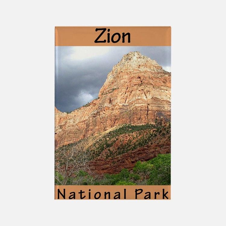 Zion National Park (Vertical) Rectangle Magnet