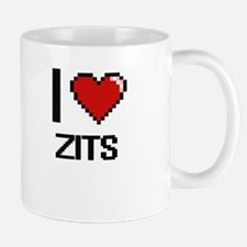 I love Zits digital design Mugs