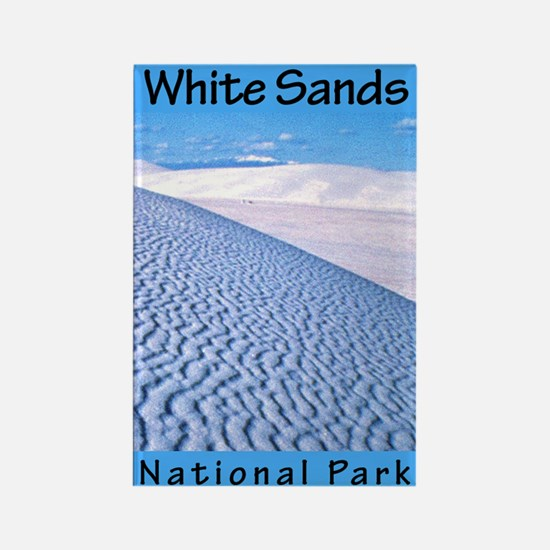 White Sands National Park (Ve Rectangle Magnet