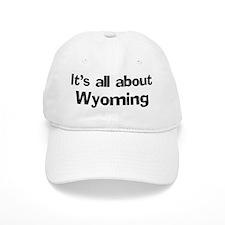 About Wyoming Baseball Cap