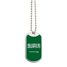 Saudi Arabia Flag Dog Tags