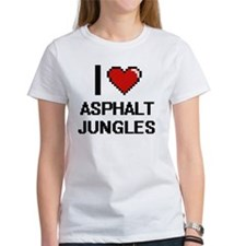 I love Asphalt Jungles digital design T-Shirt