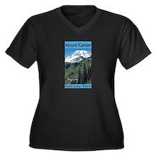 Mount Rainier National Park (Vertical) Women's Plu