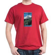 Mount Rainier National Park (Vertical) T-Shirt