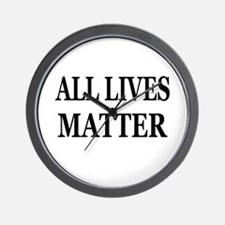 ALL LIVES MATTER Wall Clock