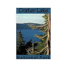 Crater Lake National Park (Ve Rectangle Magnet