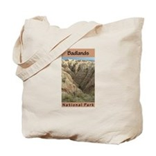 Badlands National Park (Verti Tote Bag