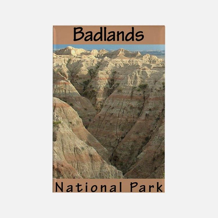 Badlands National Park (Verti Rectangle Magnet