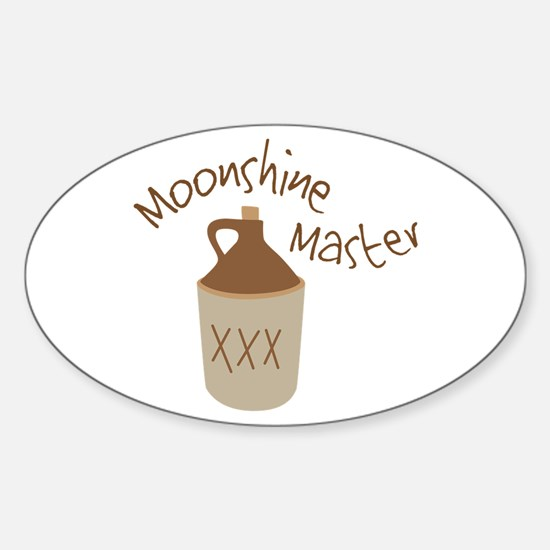 Moonshine Master Decal