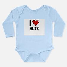 I love Blts digital design Body Suit