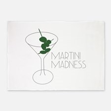 Martini Madness 5'x7'Area Rug