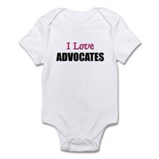 I Love ADVOCATES Infant Bodysuit
