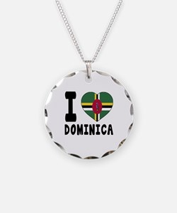 I Love Dominica Necklace
