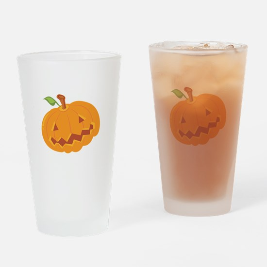 Jack O Lantern Drinking Glass