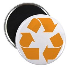Recycle Orange Magnet