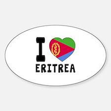 I Love Eritrea Decal