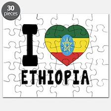 I Love Ethiopia Puzzle
