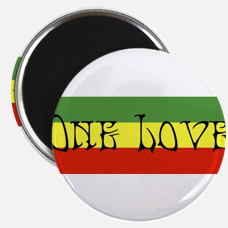 Cute Rastafarian Magnet
