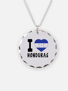 I Love Honduras Necklace