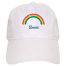 Annie vintage rainbow Baseball Cap