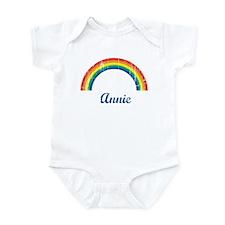 Annie vintage rainbow Onesie
