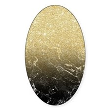 Modern girly luxurious faux gold gl Decal