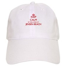 Keep calm by relaxing at Jensen Beach Florida Baseball Cap