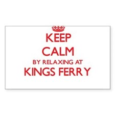 Keep calm by relaxing at Kings Ferry Georg Decal
