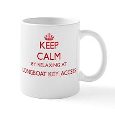 Keep calm by relaxing at Longboat Key Access Mugs