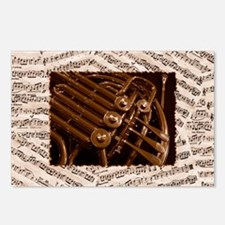 Musical Horn Postcards (Package of 8)