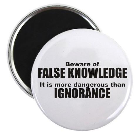 Beware False Knowledge Magnet