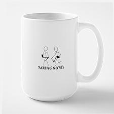 TAKING NOTES - MUSIC Ceramic Mugs