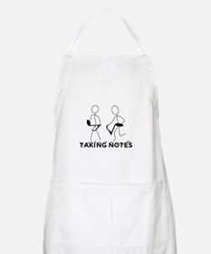 TAKING NOTES - MUSIC Apron