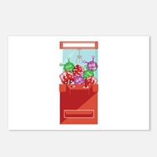 Claw Machine Postcards (Package of 8)