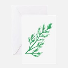 Dill Weed Greeting Cards