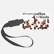 Cute Chocolate and coffee Luggage Tag