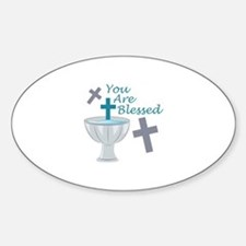 You Are Blessed Decal