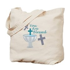 You Are Blessed Tote Bag
