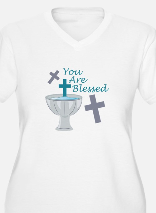 You Are Blessed Plus Size T-Shirt