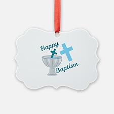 Happy Baptism Ornament