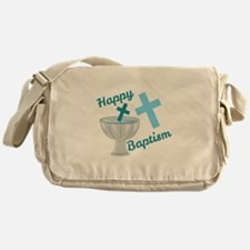Happy Baptism Messenger Bag