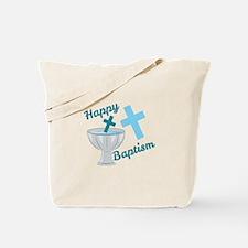 Happy Baptism Tote Bag