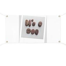 It's A Boy - Beach Stones - Polaroid Design Banner